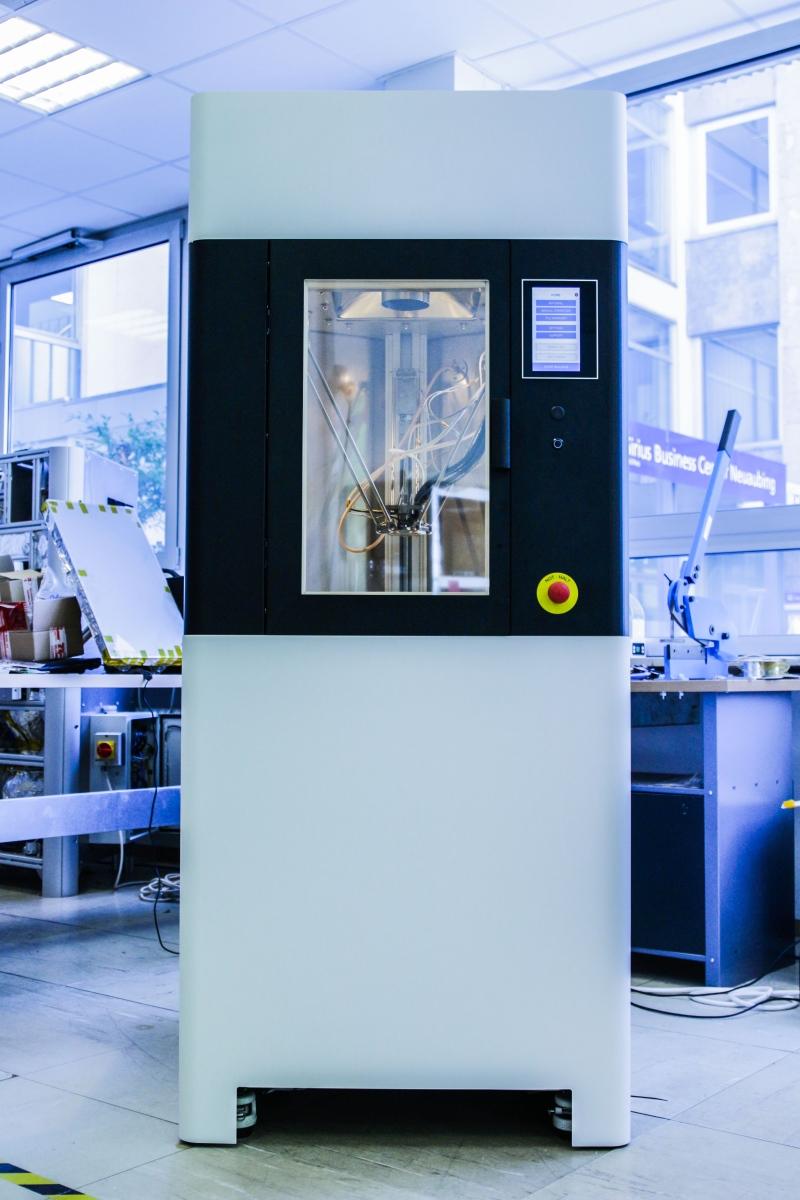 德国医疗3D打印创业公司Kumovis推出PEEK医疗应用3D打印机