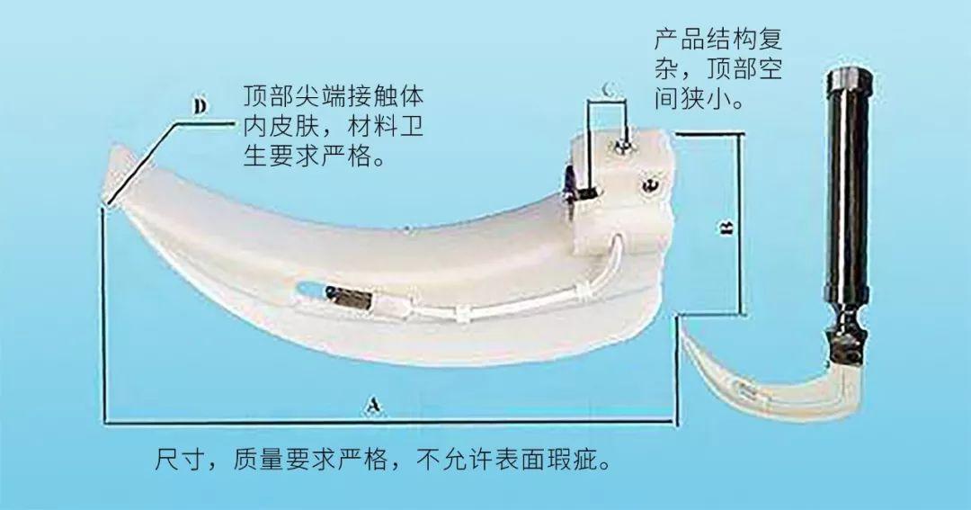 3D打印在医用喉镜模具上的应用
