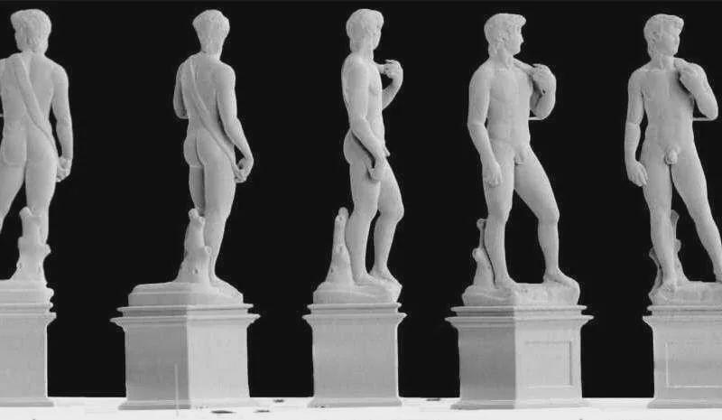 3D打印技术出创新!来看看0.1毫米高的大卫雕像