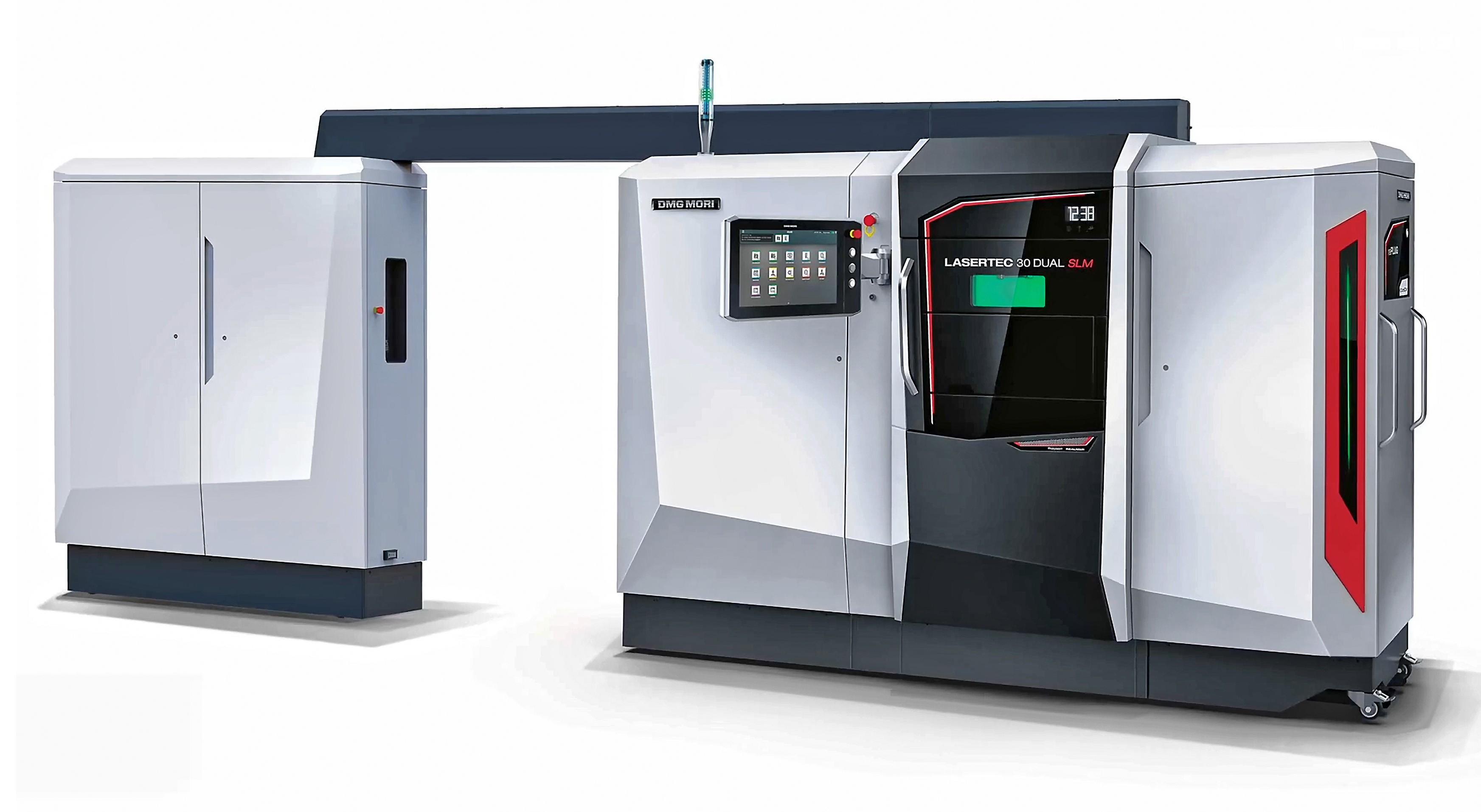 机床制造商DMG德玛吉推出双激光SLM 金属3D打印机