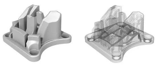 随形水路的增材制造零件后处理研究